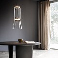 Noctambule 1 Low Cylinder and Cone Suspension Lamp