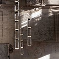 Noctambule 3 High Cylinder Suspension Lamp