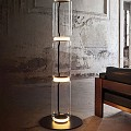 Noctambule 3 High Cylinders Small Base Floor Lamp