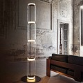 Noctambule 4 Low Cylinders Small Base Floor Lamp