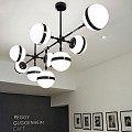 Peggy 9 Suspension Lamp