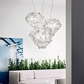Veli Medium Couture Suspension Lamp