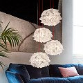 Veli Mini Quartet Couture Suspension Lamp