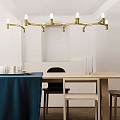 Crown Plana Linea Suspension Lamp