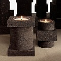 Materialism Cork Candle Medium