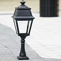AVENUE 2 - MODEL N°6 -Bollards - With CLEAR DIFFUSER