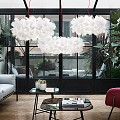 Clizia Mama Non Mama Large Suspension Lamp