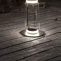Noctambule 1 Low Cylinders Small Base Floor Lamp