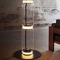 Noctambule 2 Low Cylinders Small Base Floor Lamp