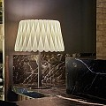 Lola Medium Table Lamp - Black Nickel