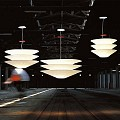 Floatation Suspension Lamp - 100cm