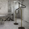 Alizz F. Cooper Floor Lamp
