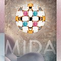 Mida Large Wall Lamp