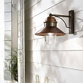 Borgo Outdoor Wall Lamp - A