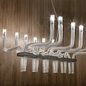 Stardust Suspension Lamp Rectangular