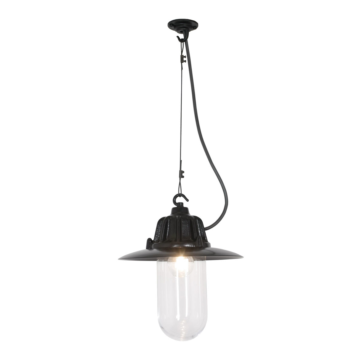 7675 Dockside Pendant With Clear Glass