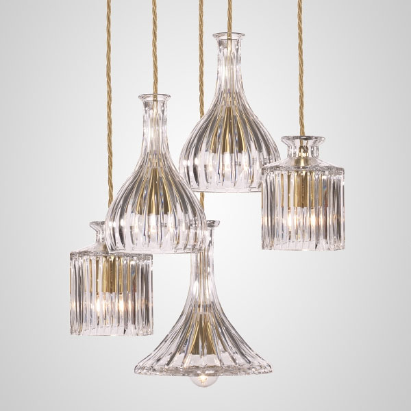 DECANTER Straight Chandelier