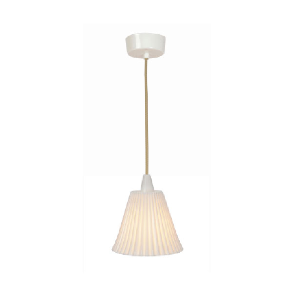 Hector Large Pleat Pendant
