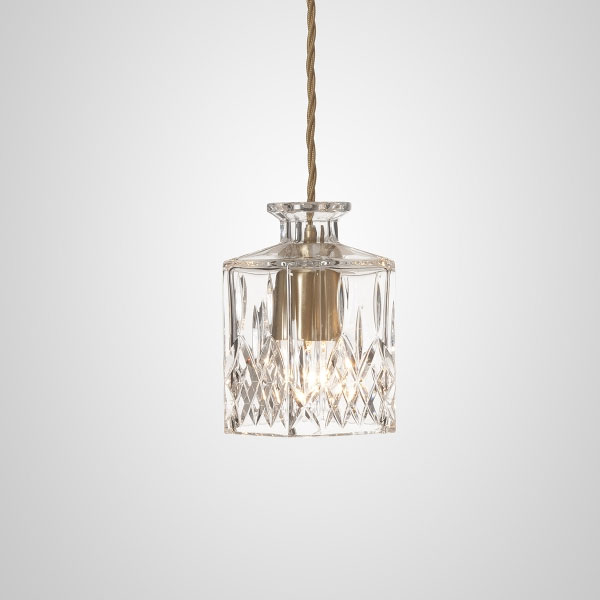 DECANTER Square Suspension Lamp