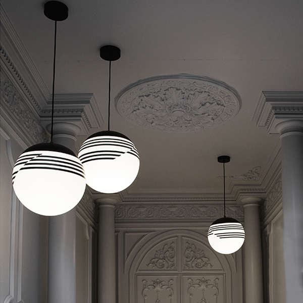 Optical Suspension Lamp