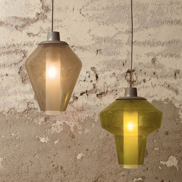 Metal Glass 2 Suspension Lamp
