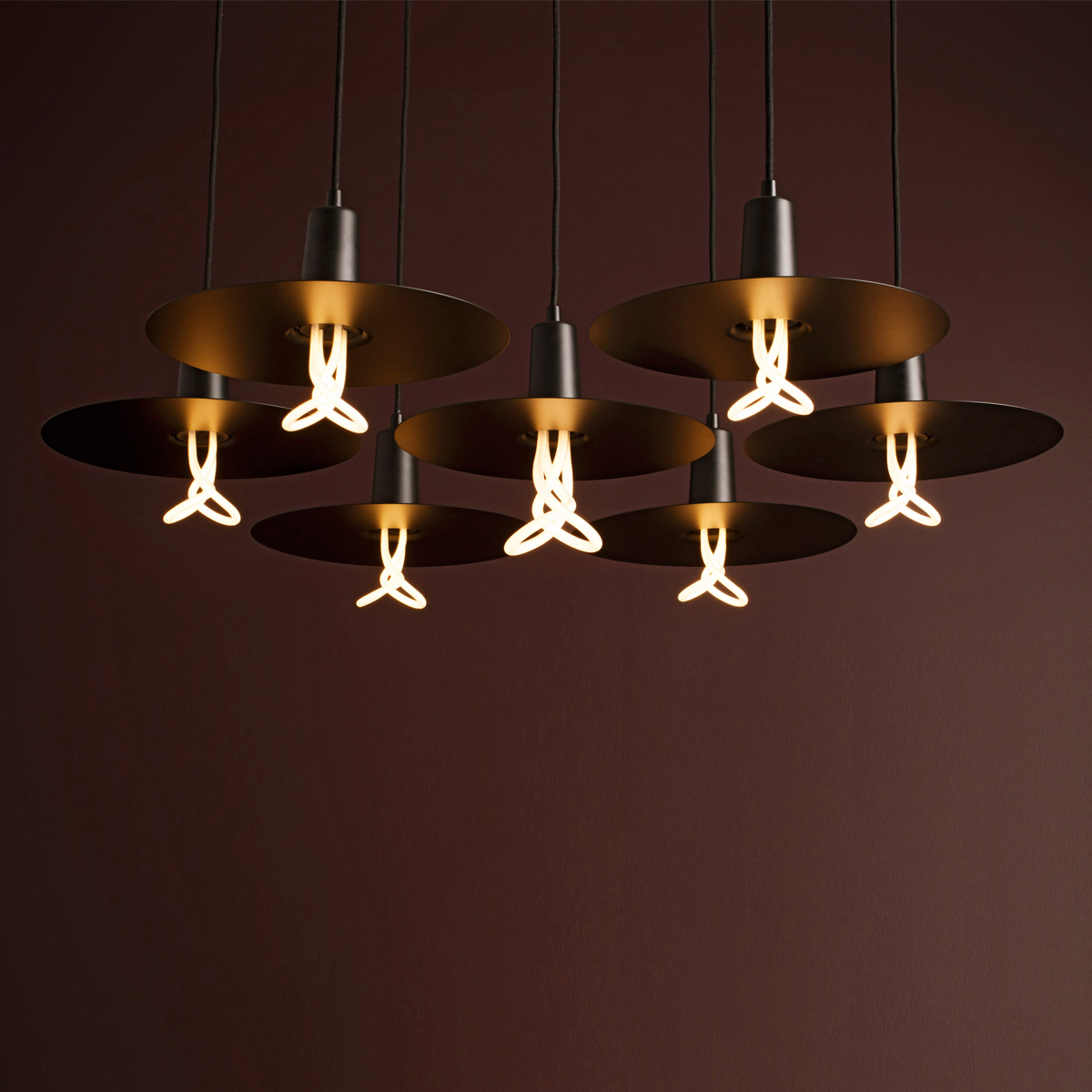 Drop Hat Shades Suspension Lamp C02