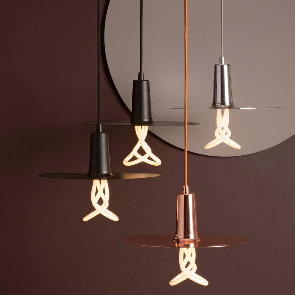 Drop Hat Shades Suspension Lamp C03
