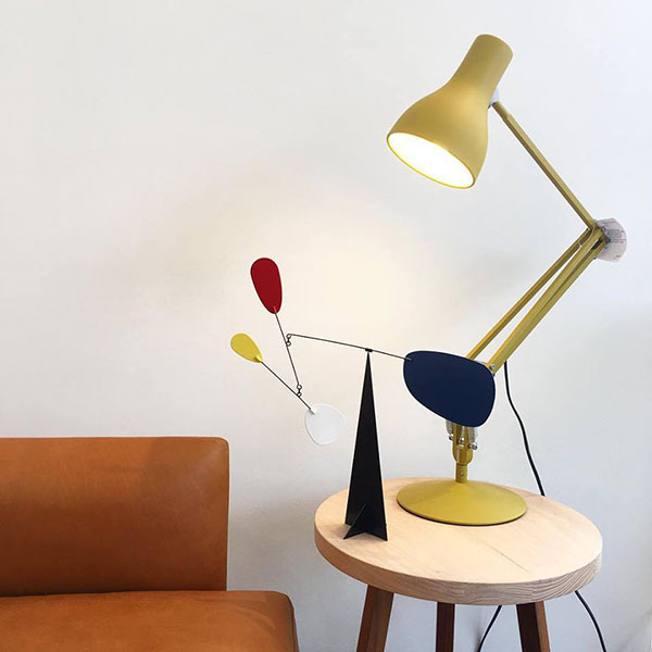 Type 75 Desk Lamp - Margaret Howell - Yellow Ochre