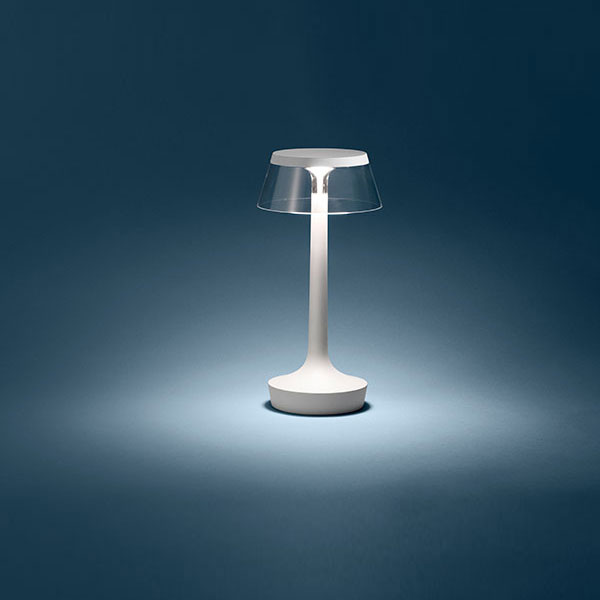 Bon Jour Unplugged Table Lamp - Chrome