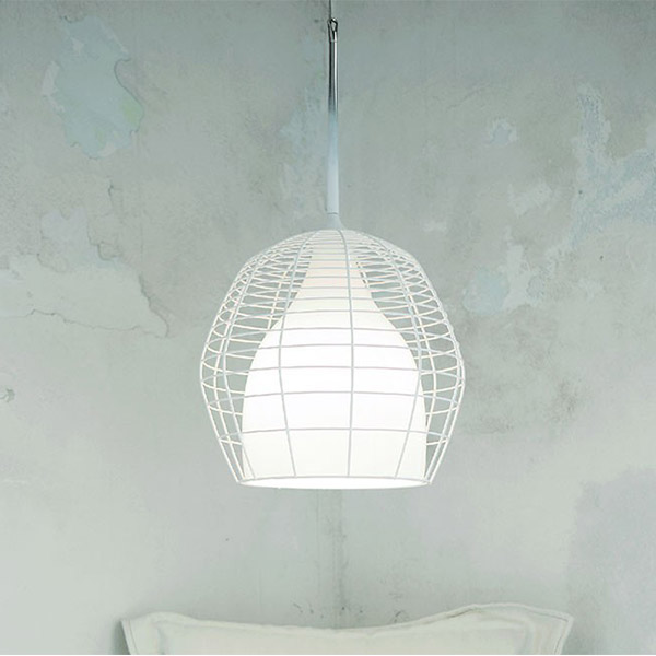 Cage Small Suspension Lamp