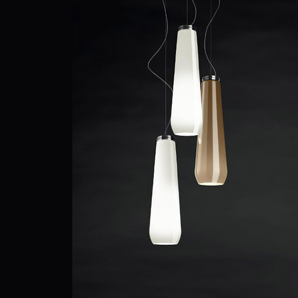 Glass Drop Suspension Lamp