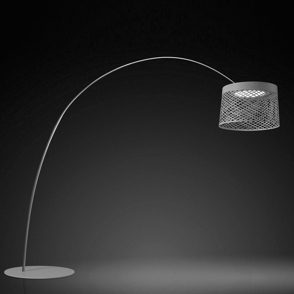 Twice as Twiggy Grid Outdoor Floor  Lamp