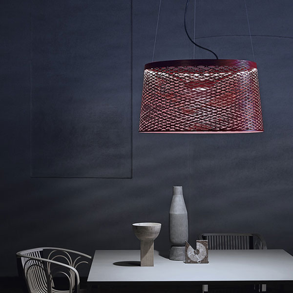 Twice as Twiggy Grid Outdoor Suspension Lamp