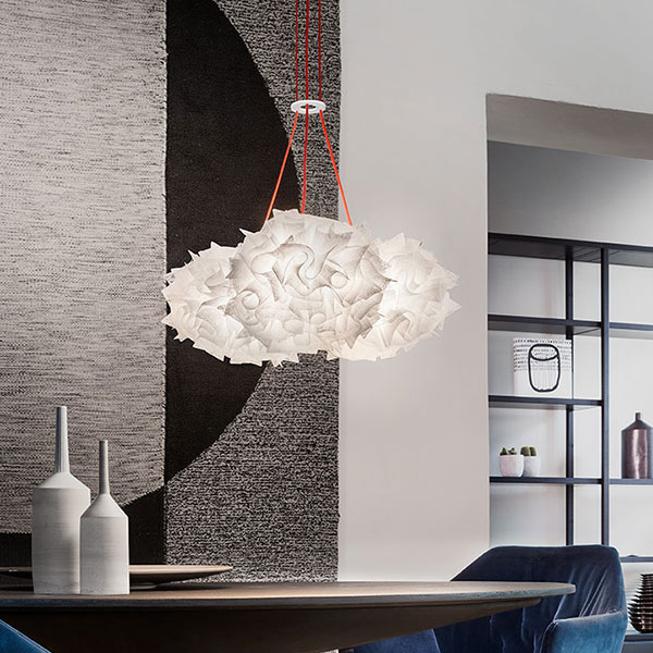 Veli Mini Trio Couture Suspension Lamp