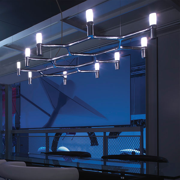 Crown Plana Suspension Lamp