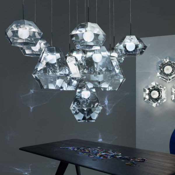 Cut Short Suspension Lamp