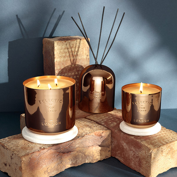 Eclectic London Candle Medium Copper