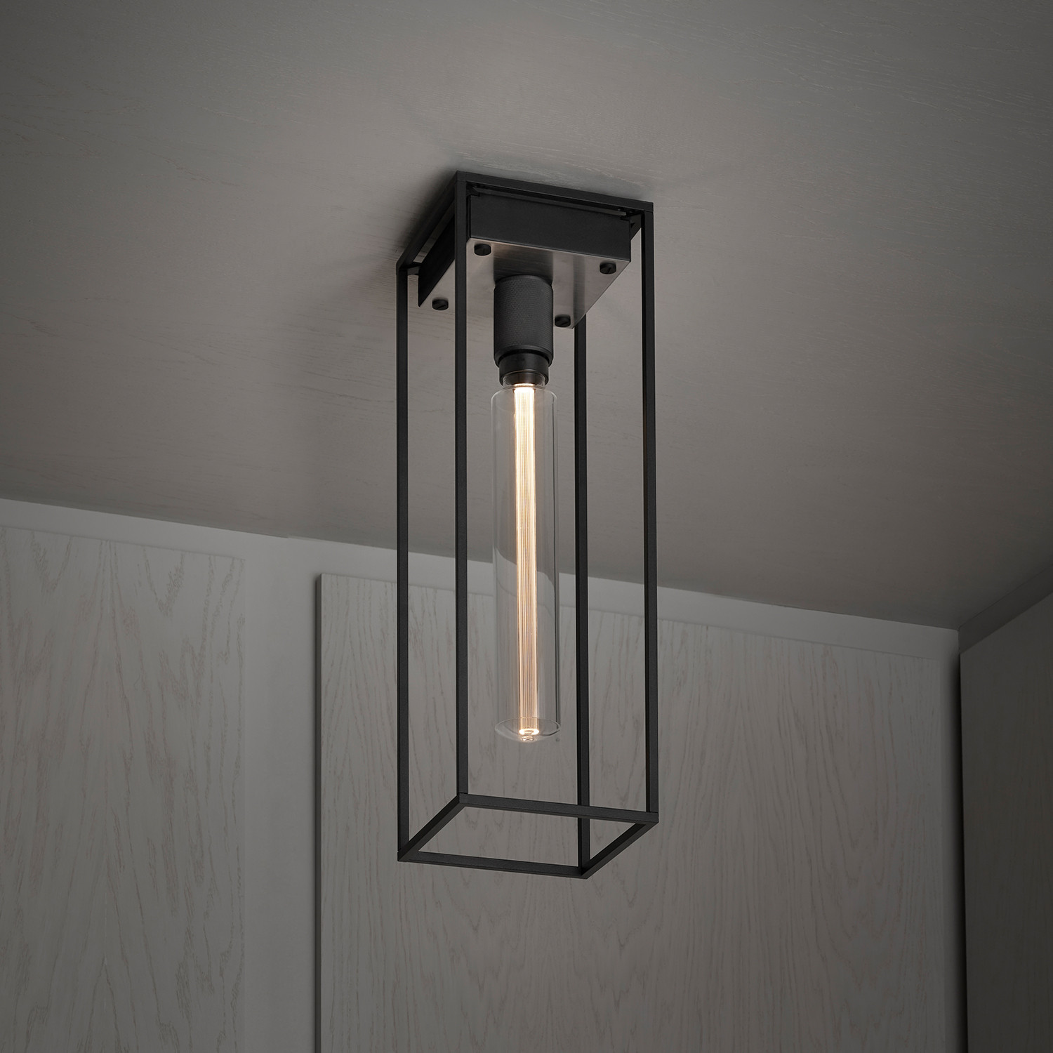 Caged 1.0. Large Ceiling Lamp