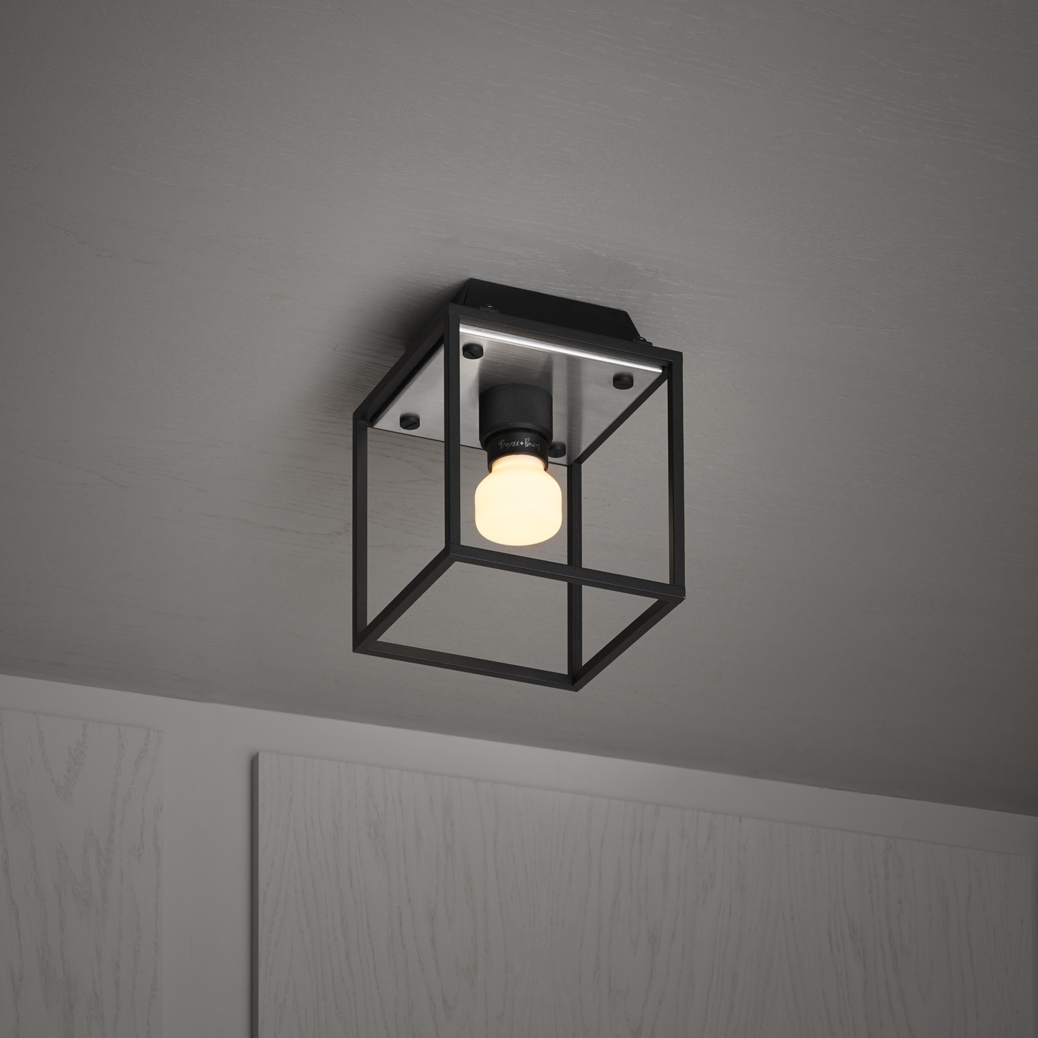 Caged 1.0. Small Ceiling Lamp