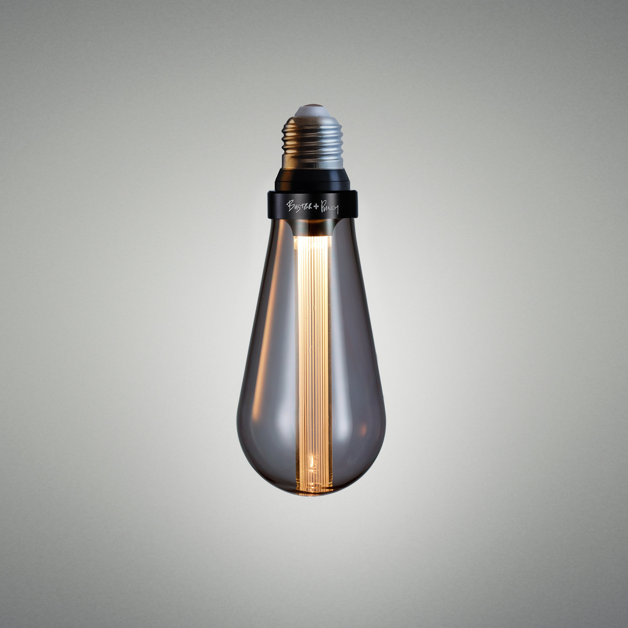 Buster Bulb Smoked - Non-Dimmable