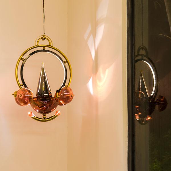 Kathakali Suspension Lamp