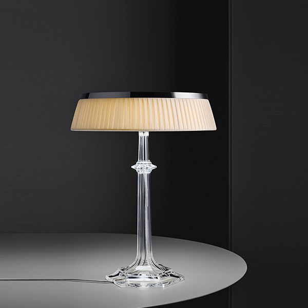 Bon Jour Versailles Large Table Lamp - Chrome