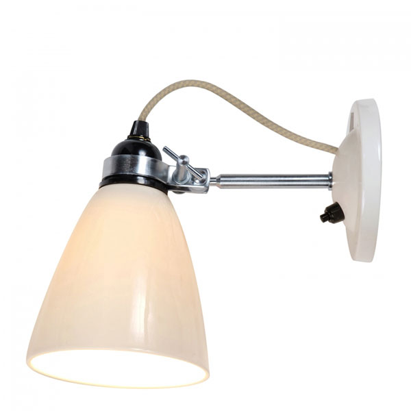 Hector Medium Dome Wall Switched Lamp