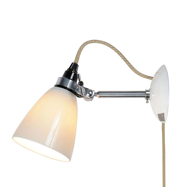Hector Small Dome PSC Wall Lamp