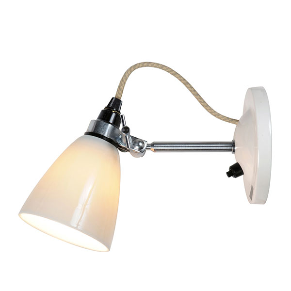 Hector Small Dome Wall Switched Lamp