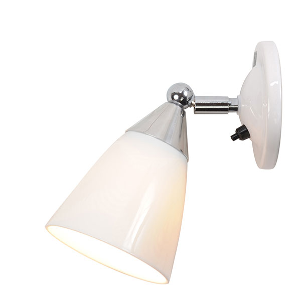Mann Switched Wall Lamp