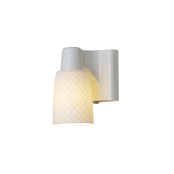 Oxford 1 Bone China Wall Lamp
