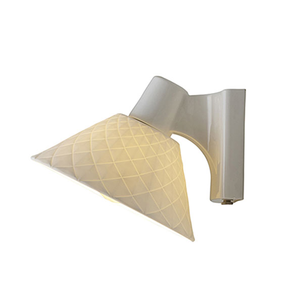 Oxford 2 Bone China Wall Lamp