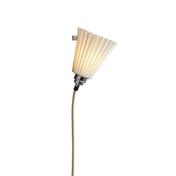 Portable Medium Pleated Wall Lamp