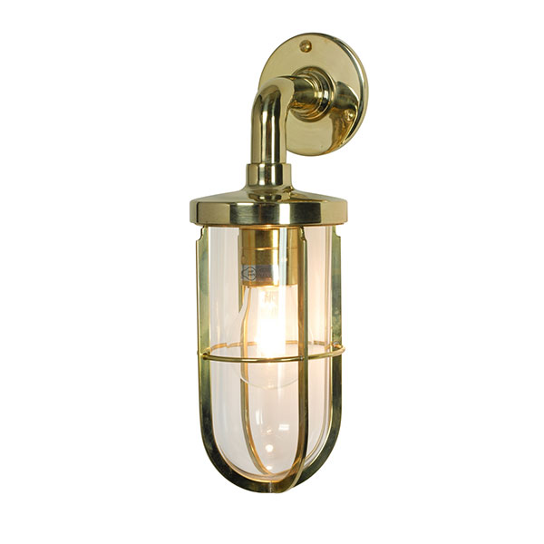 Weatherproof Ship's Well Lamp With Clear Glass